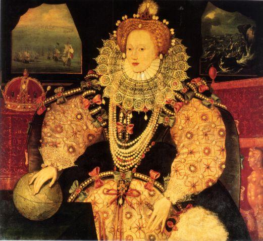 Elizabeth I Armada Portrait, Greenwich Museums
